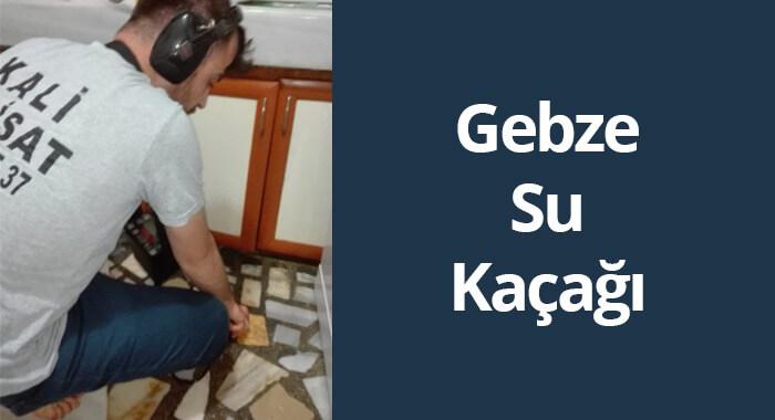 Photo of Gebze Su Kaçağı Tespiti
