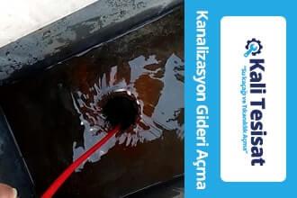 Kameralı Kanalizasyon Gideri Açma istanbul